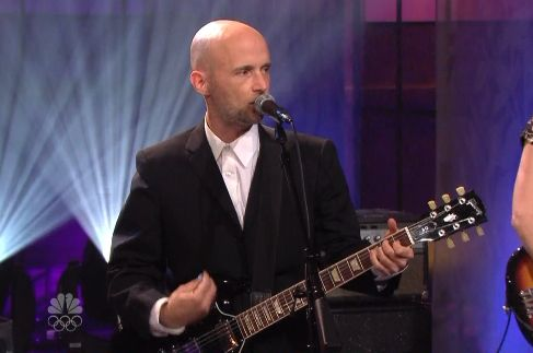 mobyleno While you were sleeping: Moby played Leno