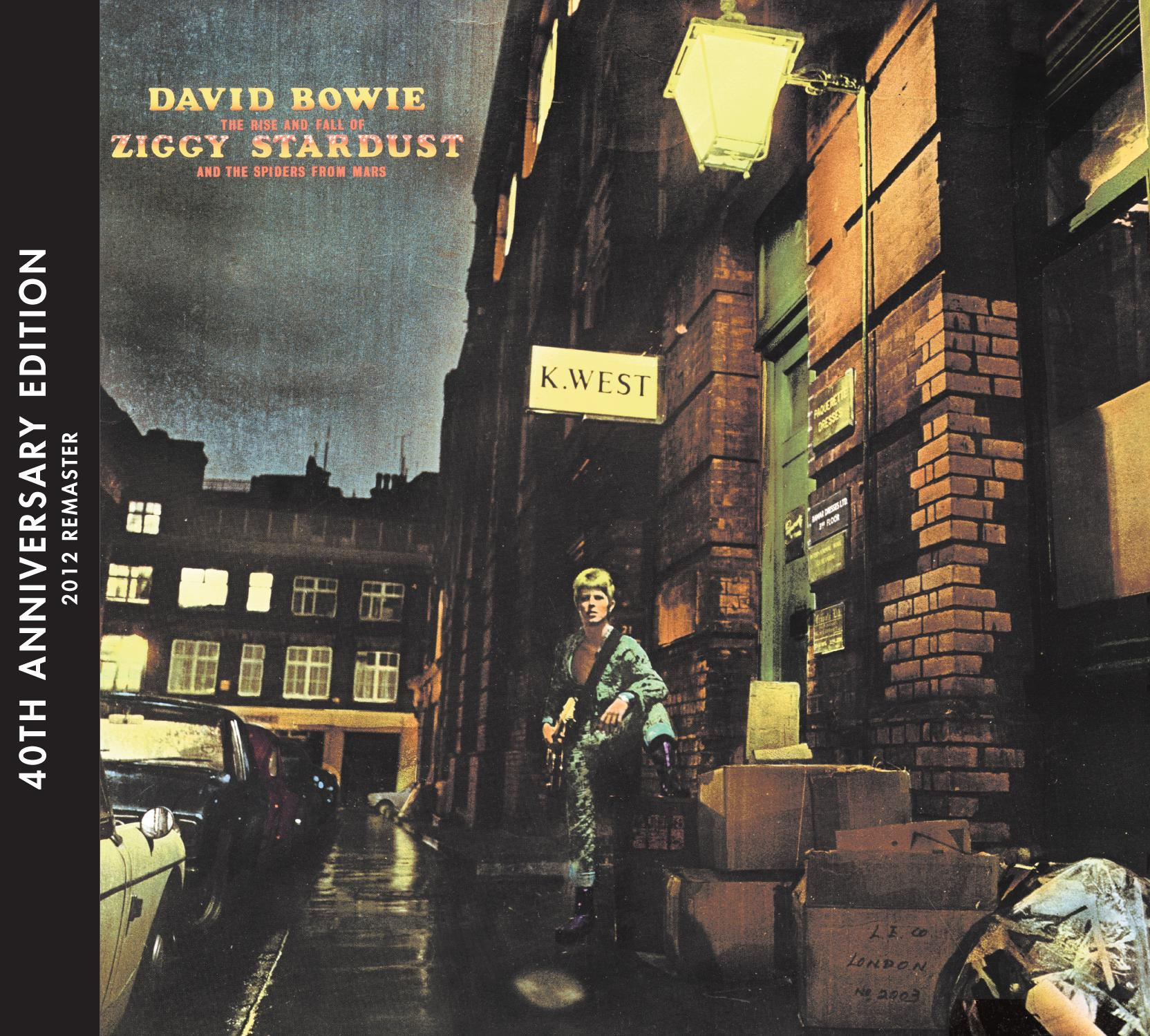David Bowie Ziggy Stardust 40th Anniversary Packshot Win the 40th Annniversary Edition of Ziggy Stardust on CD