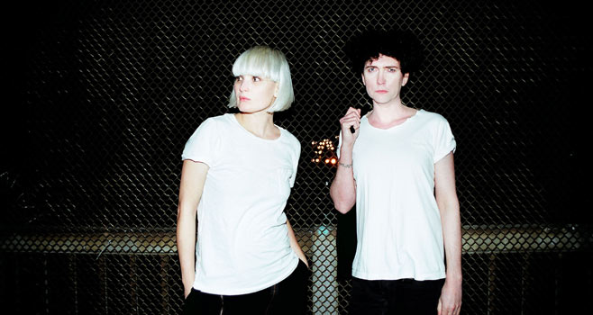 raveonettes1 While you were sleeping: The Raveonettes played Letterman