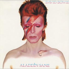 Bowie's 'Aladdin Sane' LP released this day in 1973