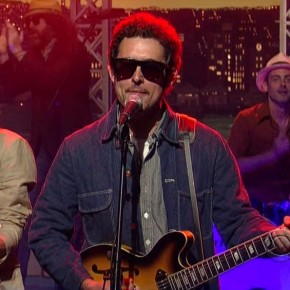 While you were sleeping: Diamond Rugs played Letterman
