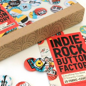 Yellow Bird Project introduces The Indie Rock Button Factory